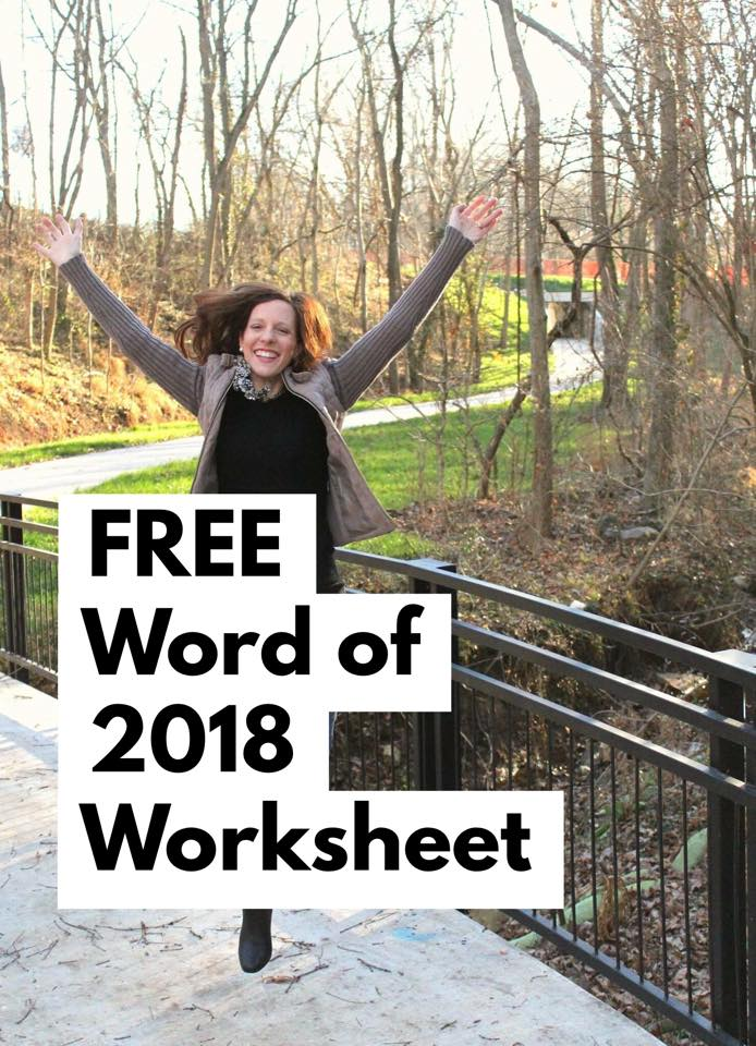 Free Word of 2020 Worksheet