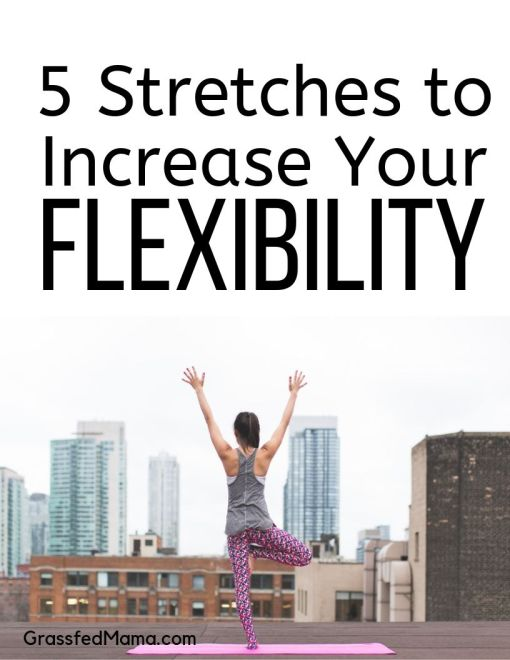 5 Stretches to Increase Your Flexibility