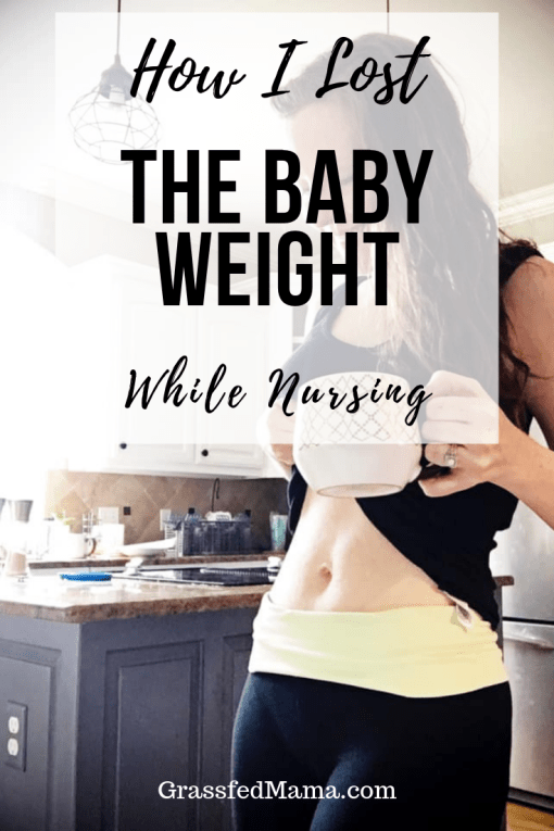 How I Lost the Baby Weight While Nursing