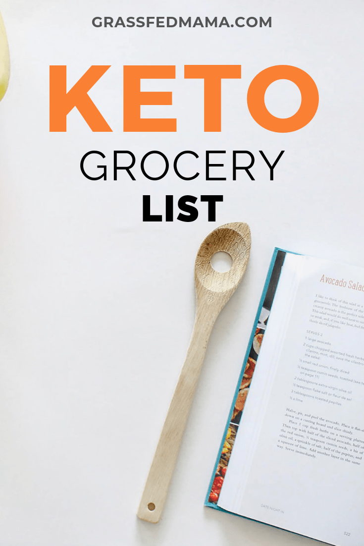 Click to Grab Your Free Keto Grocery List!