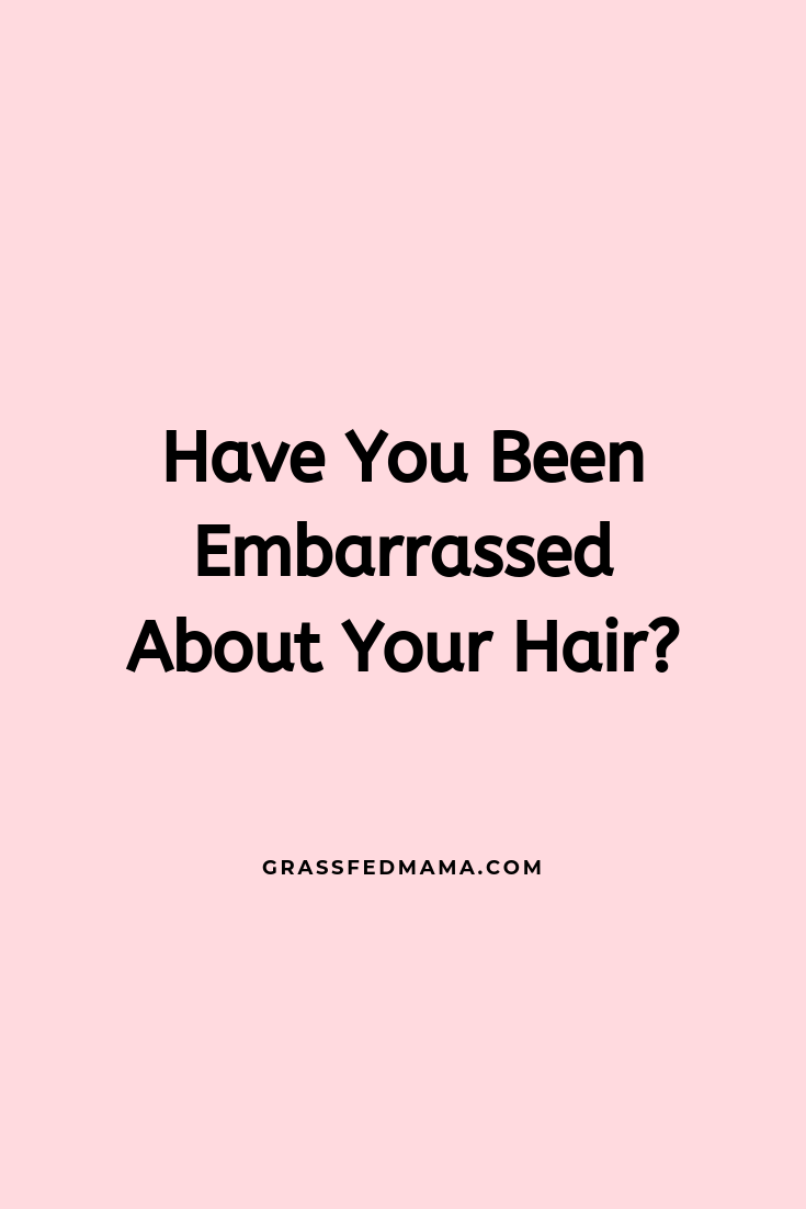 Are You Embarrassed About Your Postpartum Hair?