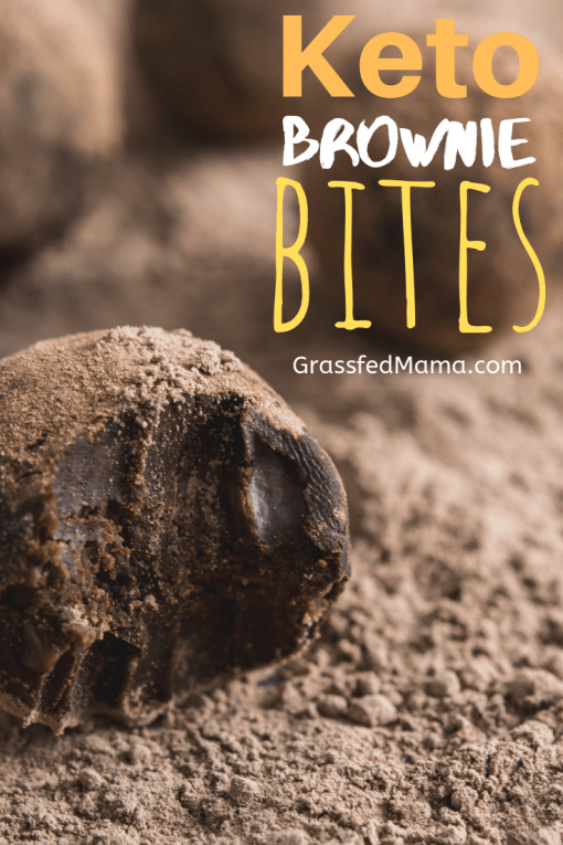 Keto Brownie Batter Bites