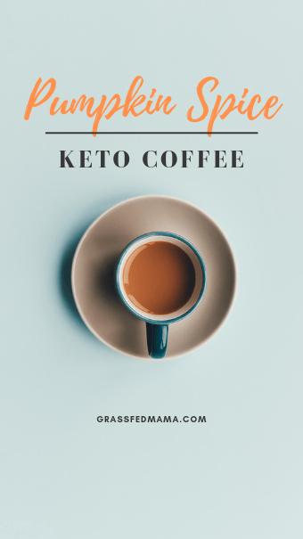 Pumpkin Spice Keto Coffee