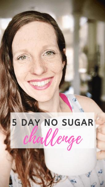 5 Day No Sugar Challenge
