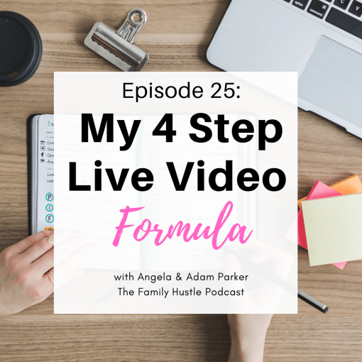 My 4 Step Live Video Formula