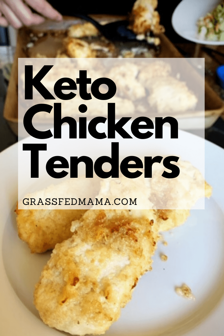 Keto Chicken Shake and Bake