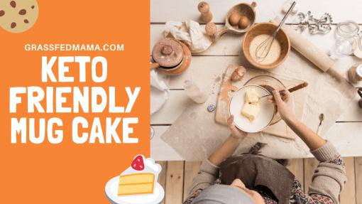 Keto Mocha Mug Cake