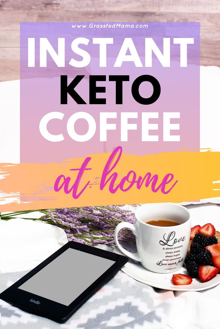 instant keto coffee