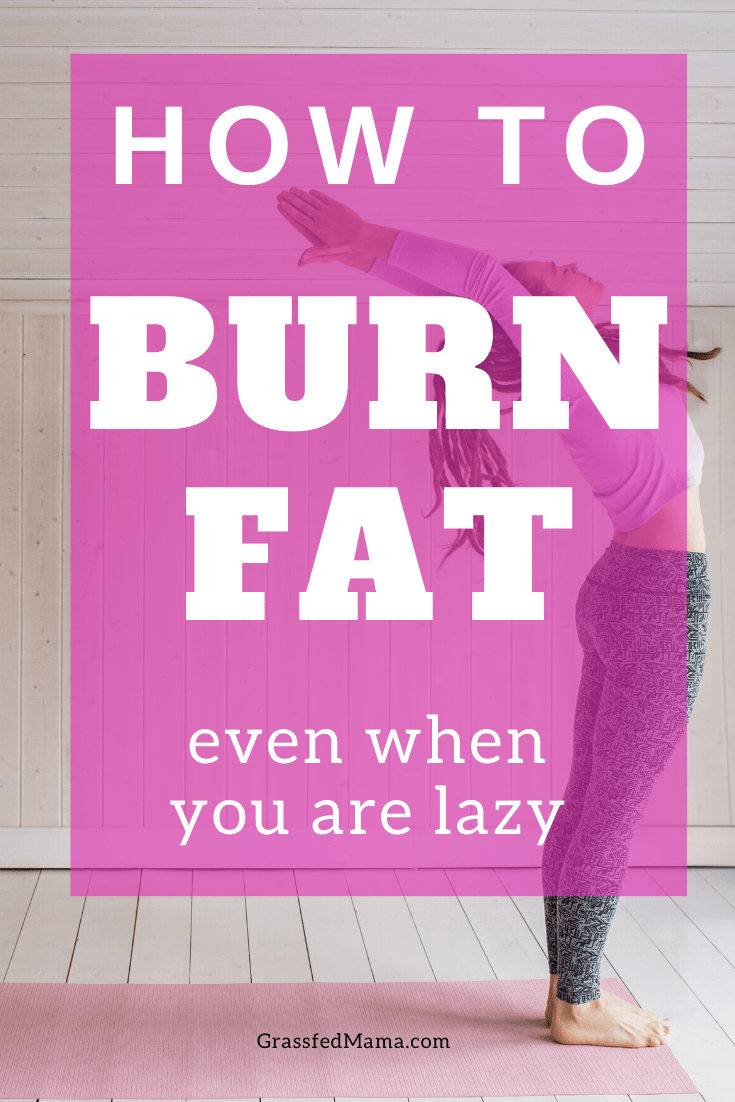 How to Burn Fat Without Working Out