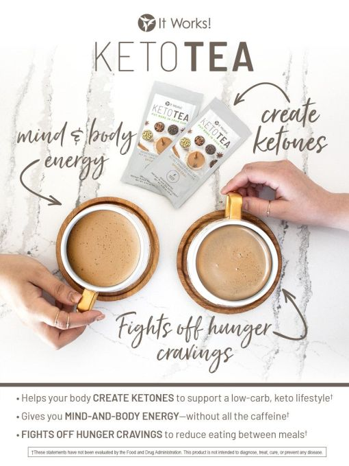 It Works Keto Tea