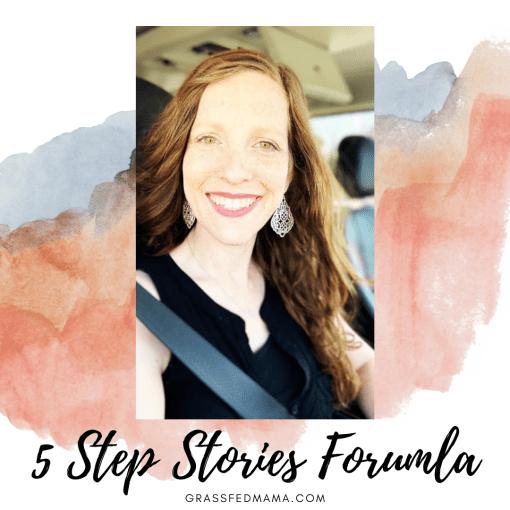 5 Step Stories Formula
