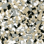 Color Flakes For Commercial Flooring Mediterranean Color