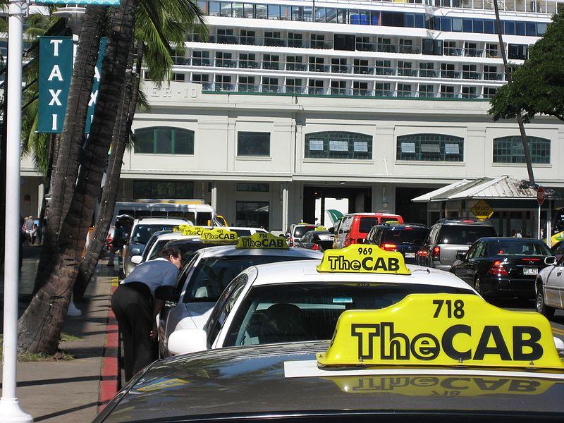 Honolulu taxi