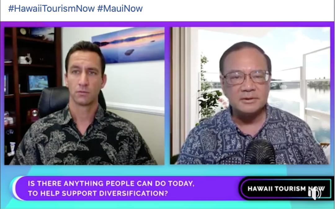 Akina discuses tourism, diversification on MauiNow