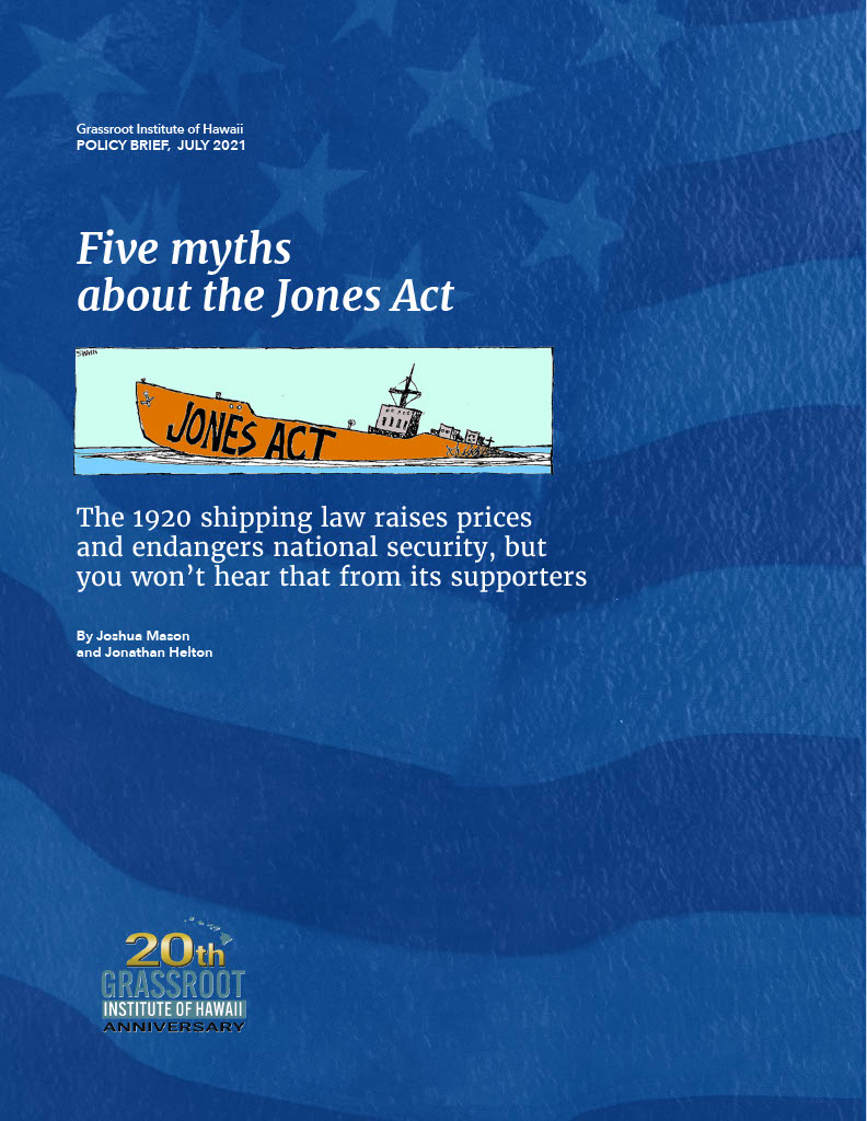 Five myths about the Jones Act