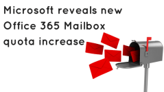 office 365 mailbox quota increase