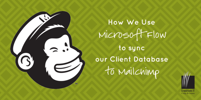 Using Microsoft Flow to sync database to Mailchimp