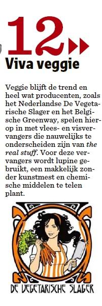 2013-12-28, Het Nieuwsblad, Viva Veggie!