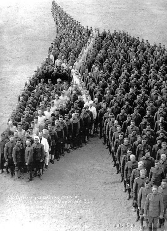 Tribute aan de ingezette paarden, wellicht ergens tijdens WOI. Fotograaf Mark Caen