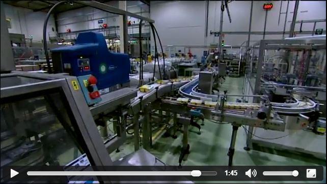 screenshot uit het filmpje van Alpro, website Focus TV