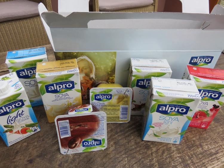 Goodie bag Alpro