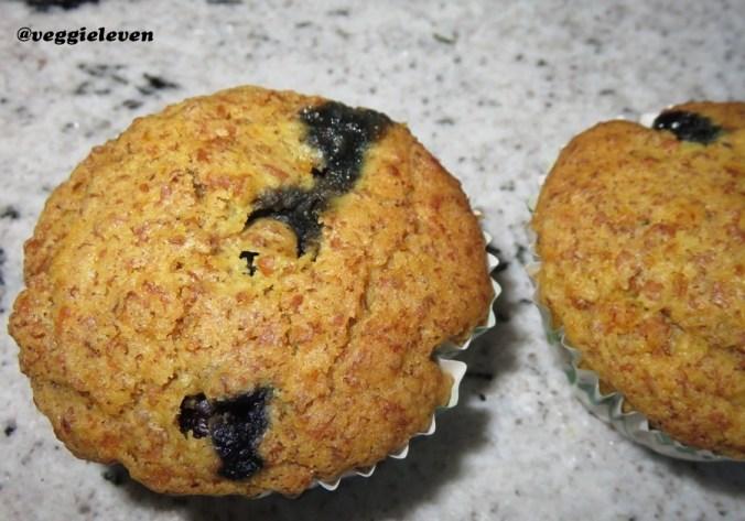 Citroenmuffin gemaakt met spelt & volkorenbloem