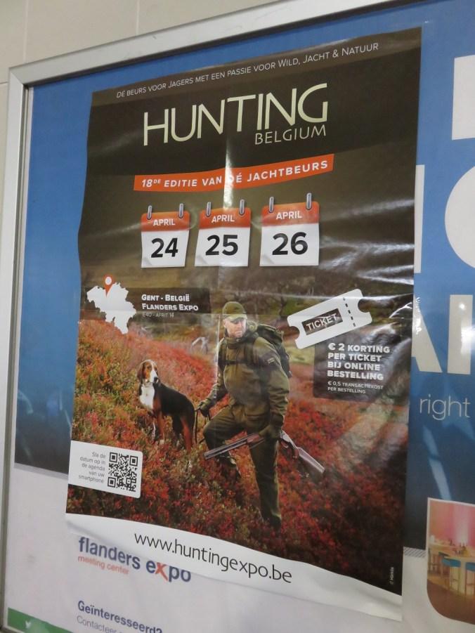 Hunting beurs, Gent, Flanders Expo