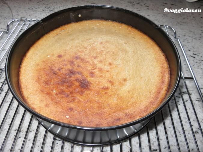 kaastaart, net uit de oven