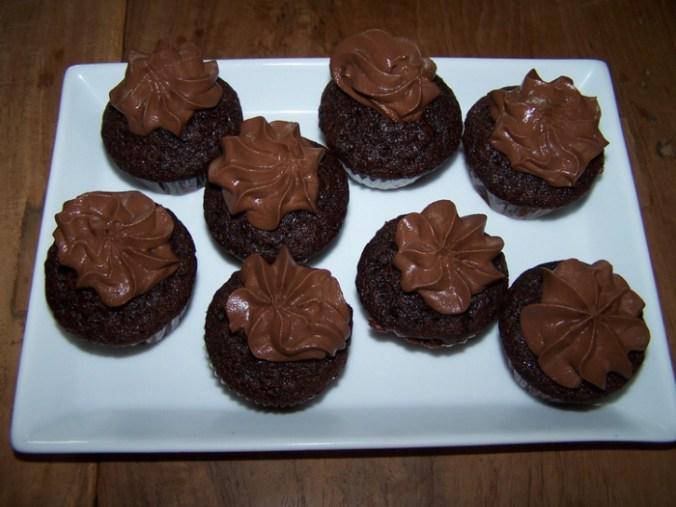 Minichocolademuffins