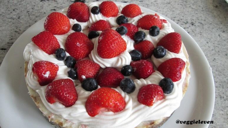 Kokos crème taart