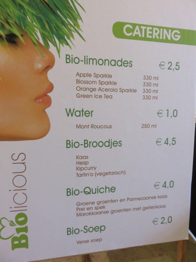 catering @Biolicious - geen vegan aanbod?