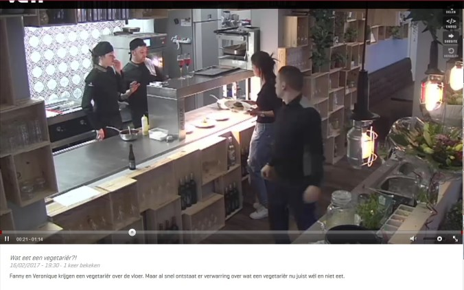 Fragment Mijn pop up restaurant, 2017, VTM