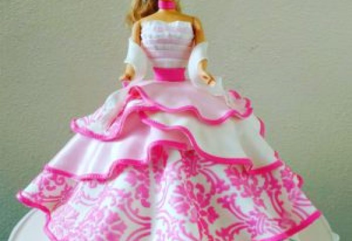 How To Make Princess Doll Cakes Grated Nutmeg