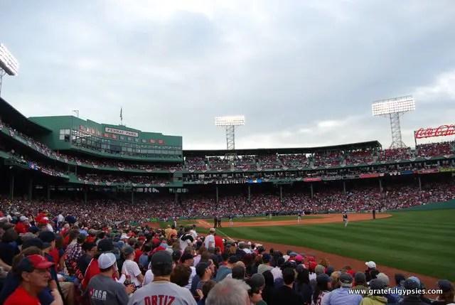 I'm not a Red Sox fan, but it was cool to see a game at Fenway.