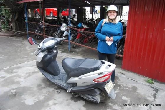 Our ride in Ninh Binh.