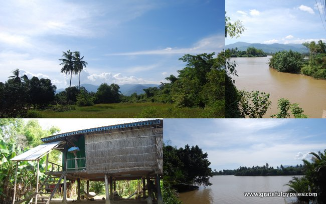 The country side around Kampot.