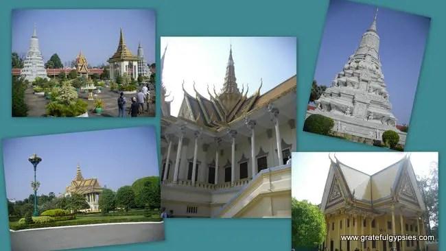 More shots of the Royal Palace.