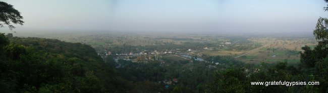View from the top of Phnom Sampeu.