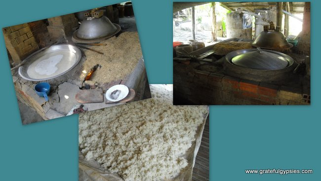 The house where they make alcohol. Seems like such a simple process; all you need is rice.