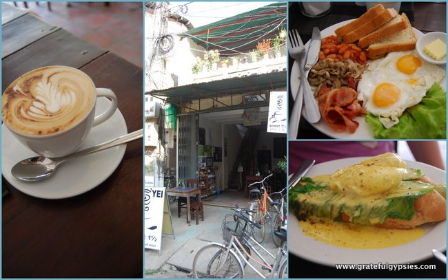 Kinyei Cafe. Some of the best coffee in Cambodia.