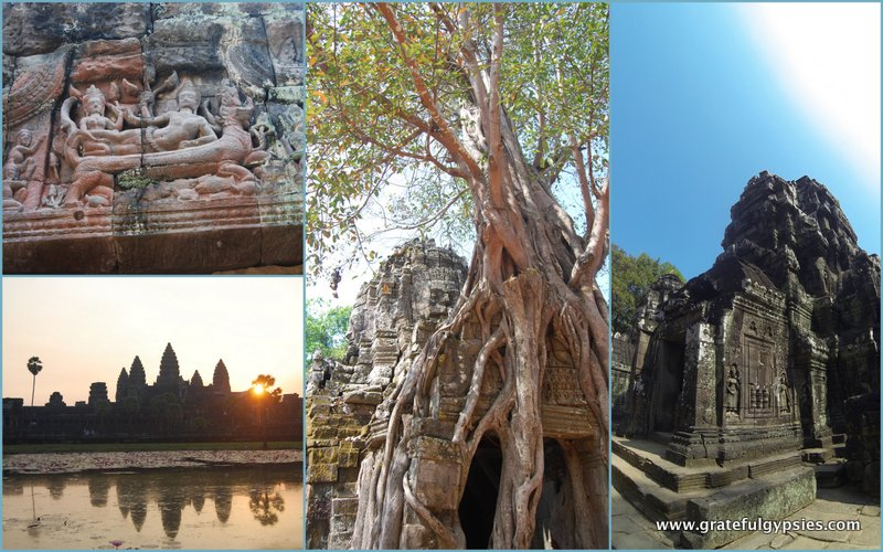 Some highlights of our three days exploring the temples of Angkor.