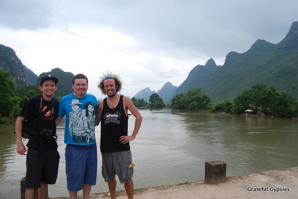 3 brothers in Yangshuo.