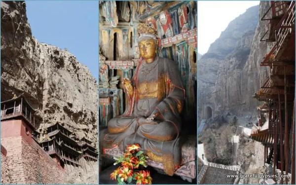 The amazing Hanging Monastery.