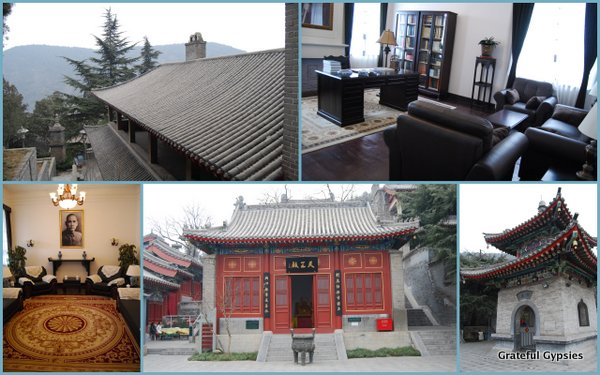The Xiangshan Temple and Chiang Kai-shek's villa.