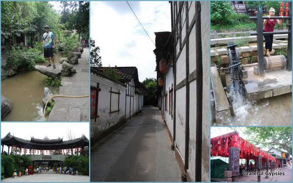 Some scenes of the ancient town of Pingle.