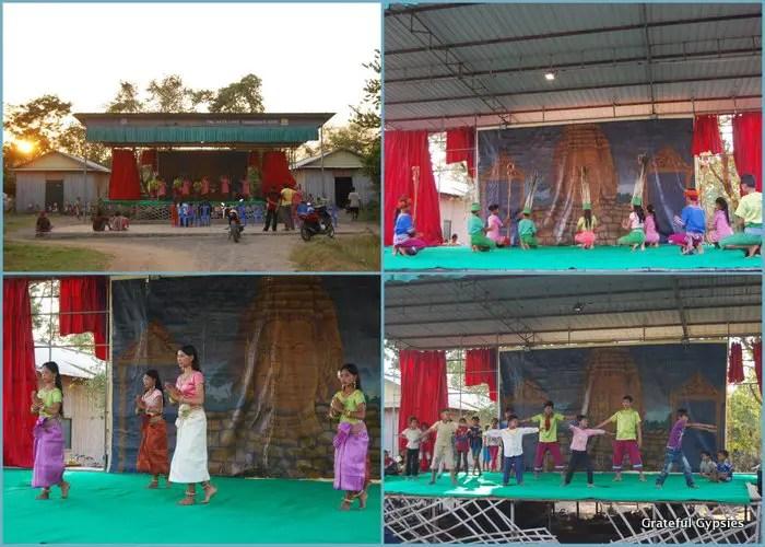 Asmara dancing in Kampong Cham.