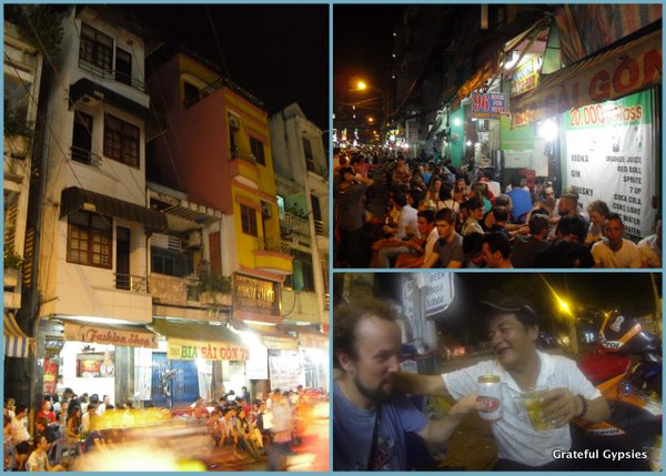 Cheap beers and good times abound in HCMC.