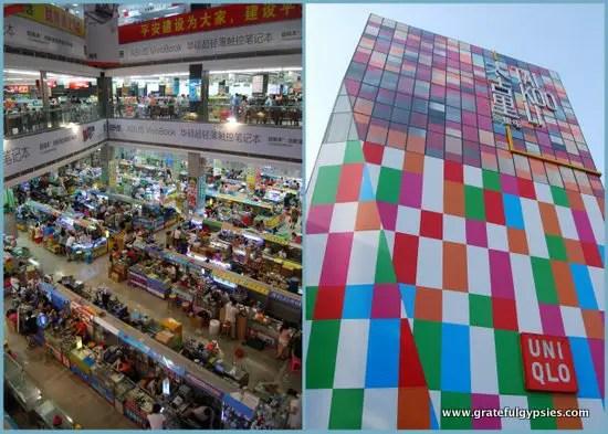 Shop til you drop in China.