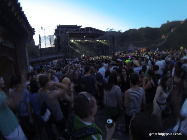 We did manage to go to the Great Wall rave in 2013.