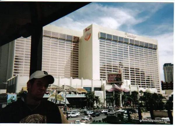 An 18-year old me seeing Phish in Vegas.